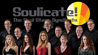Soulicate - Portraits mit Band-Logo